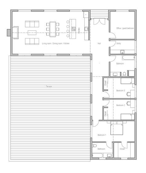l shaped duplex plans small house modern farmhouse house plan