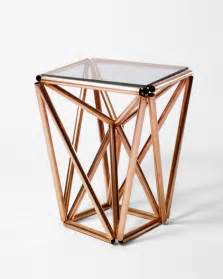 Copper Side Table A Dozen Chic Diys Made With Copper Piping Brit Co