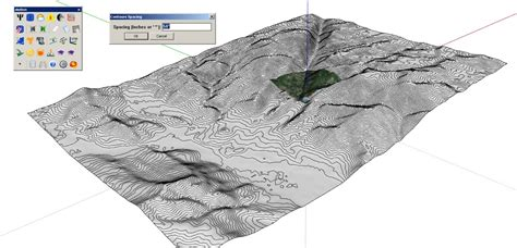 topography in sketchup 100 creating topo maps using pretentious title tutorial how to make your own fictional