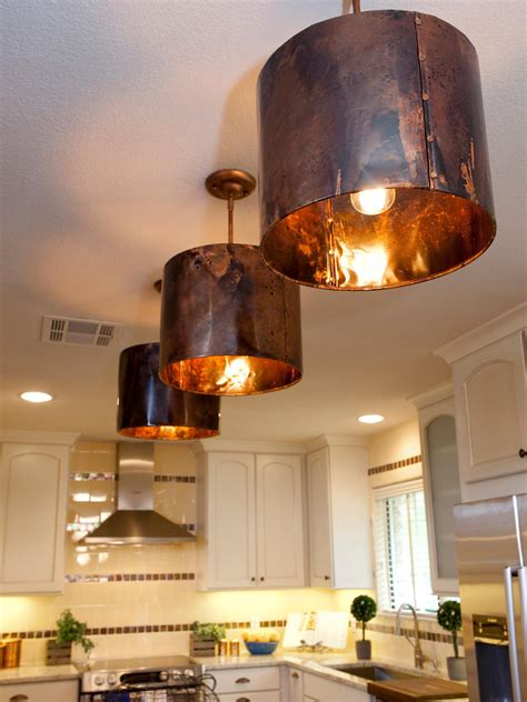 copper kitchen lighting photos hgtv
