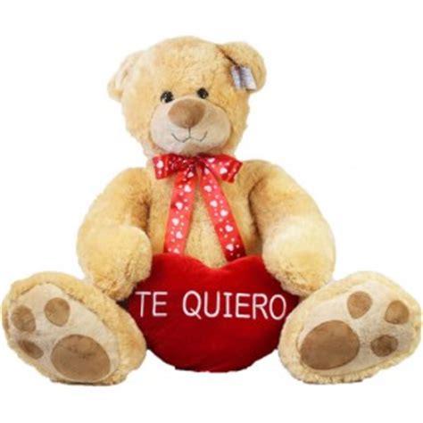 imagenes de osos de peluches que digan te amo oso peluche gigante 1m con coraz 243 n te quiero