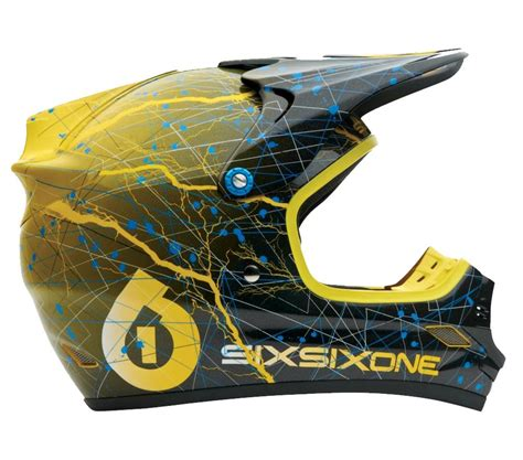 sixsixone motocross helmet sixsixone 661 helmet flight ii 2 static xs small