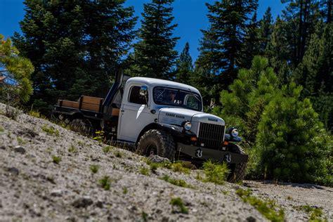 dodge retro truck 1943 dodge power wagon cummins offroad 4x4 custom truck