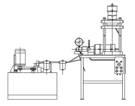 hydraulic cylinder test bench bench plan hydraulic bench design guide