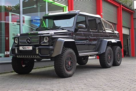 mercedes 6x6 black mercedes benz g63 amg 6x6 for sale gtspirit