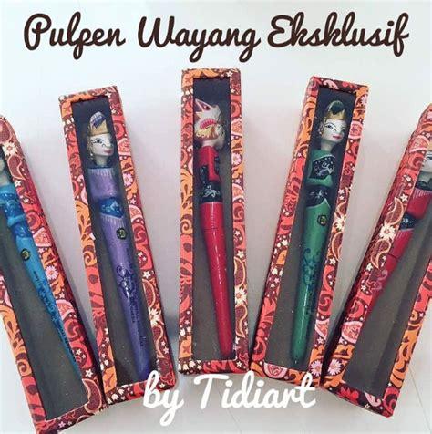 Sovenir Pulpen Wayang Golek pulpen wayang rama shinta tidiart