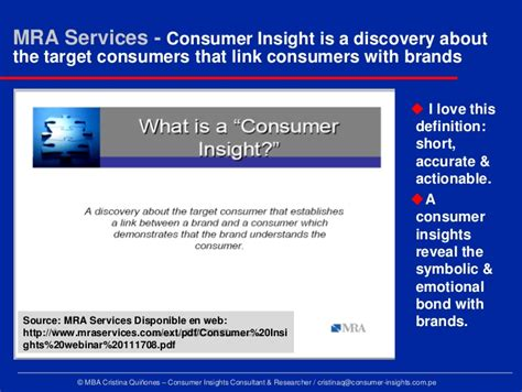 Consumer Insights Mba by Consumer Insights Revealing The Truths Myths