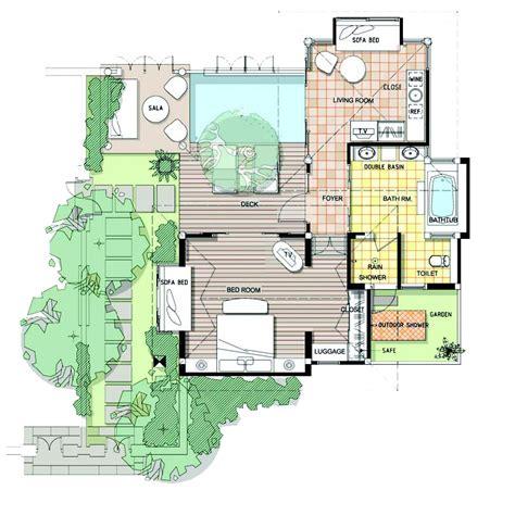 House Plans With Pool Courtyard factsheet information melati beach resort amp spa samui
