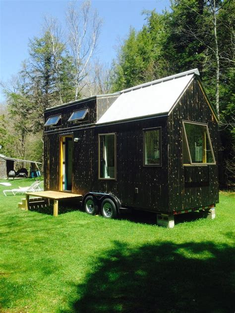 Small Homes For Sale Ct 190sf Black White Tiny House With A Dash Of Color Tiny