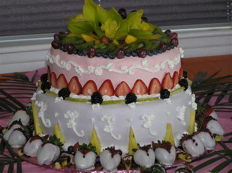 fresh fruit wedding cake cakes   move