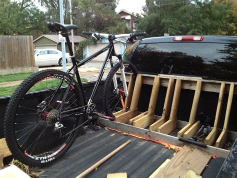 Diy Bike Rack For Truck Bed by Brand New Build Diy Truck Bed