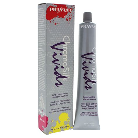 chromasilk hair color pravana chromasilk vivids creme hair color