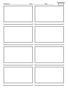 storyboarding template lean storyboard template images