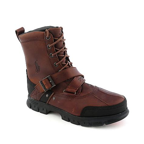 polo casual boots for polo ralph tavin mens casual boot
