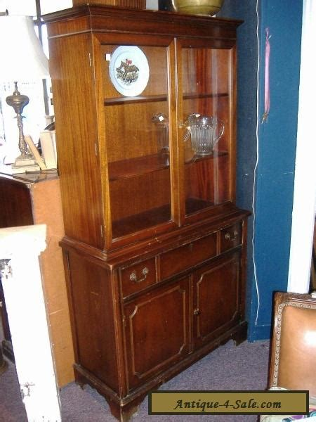 closet cabinet for sale mahogany china cabinet closet glass door vintage antique