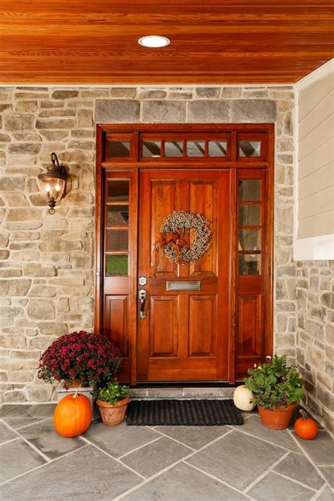 Autumn Front Door Decorations Sprucing Up For Fall And Easy Tips