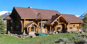Luxury Log Cabins For Sale by For Sale Luxury Log Home In Colorado Cabin Obsession