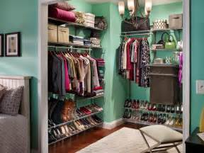 shoe racks for closets hgtv
