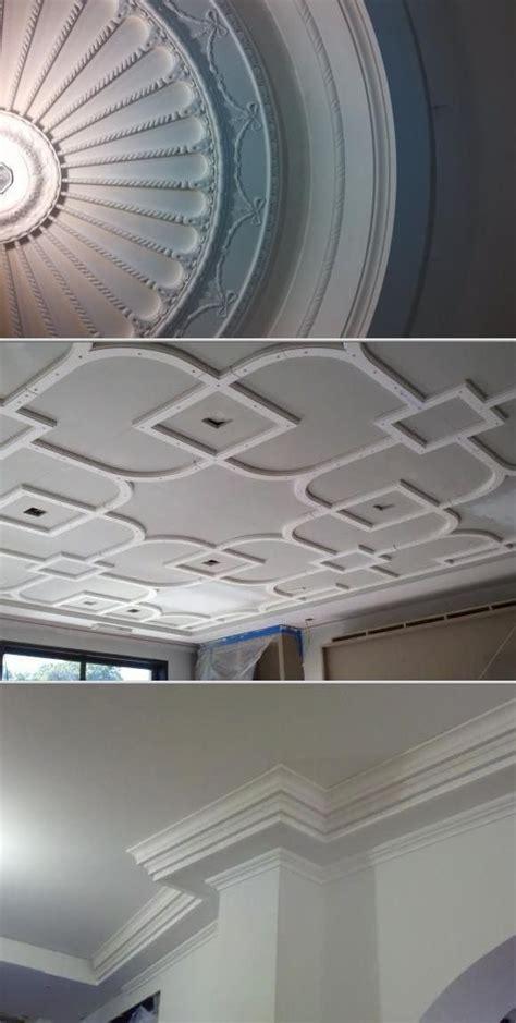 Gypsum Ceiling Installation by Best 25 Crown Molding Installation Ideas On