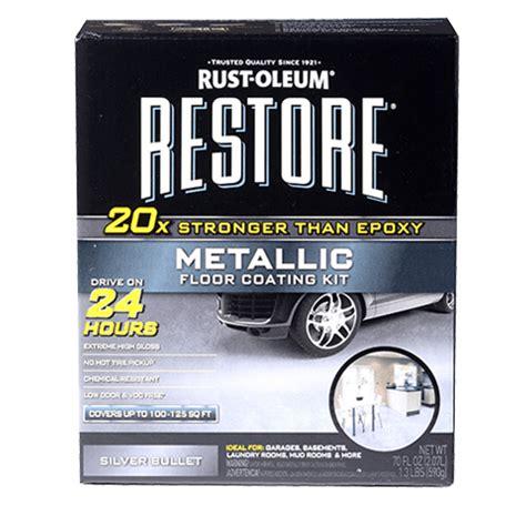 Metallic Floor Coating Kit