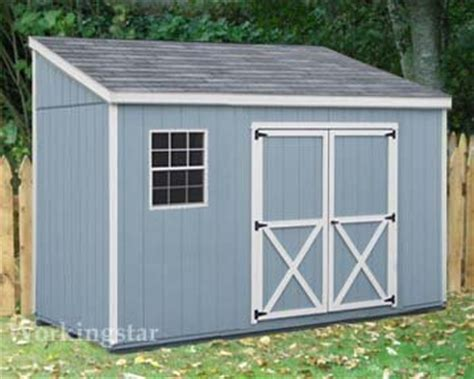 4 X 10 Shed Plans by 4 X 10 Lean To Roof Storage Shed Blueprints Project