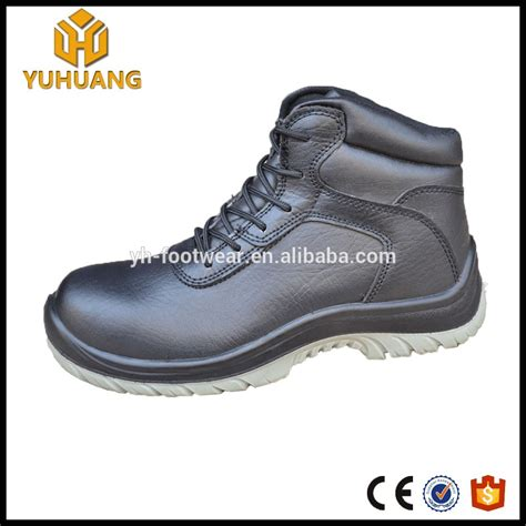 high heel steel toe shoes waterproof genuine leather high heel steel toe safety