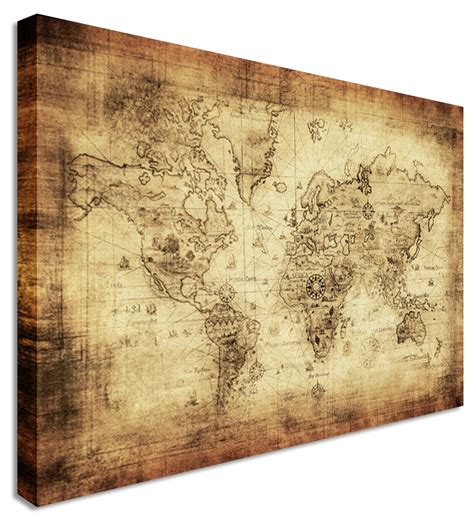 Decorative Wall Maps by The Superior Map Wall Decor