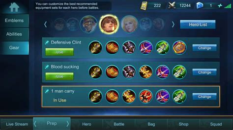 mobile legend build guide and build for clint 2018 mobile legends