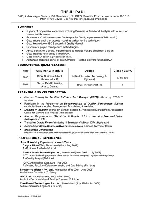uat tester resume sle user acceptance testing template images entry