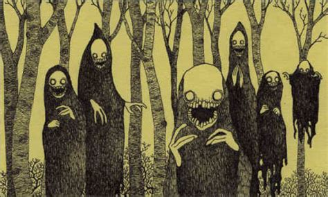 it monster creepy art scary website
