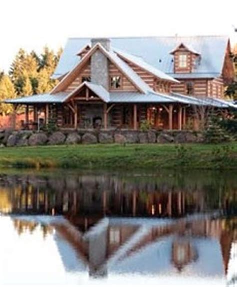 Log Cabin Homes In Washington State by Standout Log Cabin Homes Carefully Crafted
