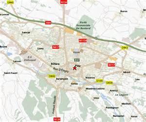 Pau France Map by Pau Map