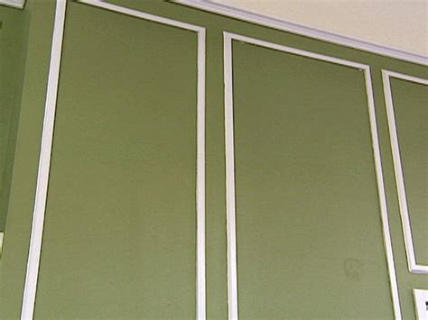 paneled walls how to create paneled walls hgtv
