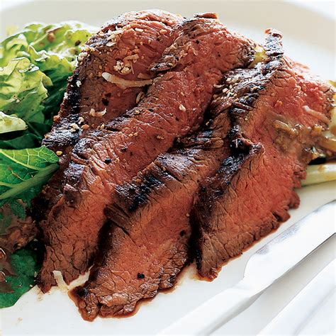 grilled flank steak salad recipe ehrlich food wine