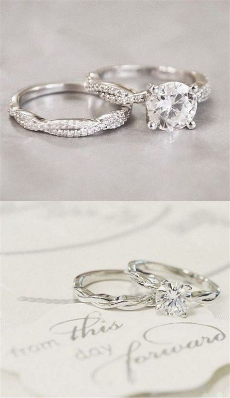 Wedding Bands For Twisted Engagement Rings by 2016 Trends Twisted Engagement Rings Wedding Rings