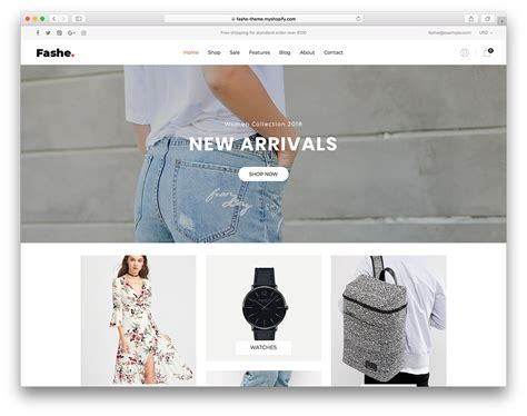 shopify top themes top 30 best free best shopify themes for your online store