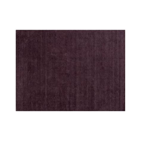 10 x 14 crate and barrel rugs baxter plum purple wool 10 x14 rug crate and barrel