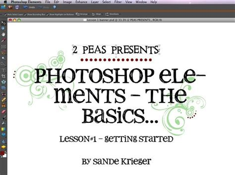 tutorial photoshop elements 17 best images about photography lessons on pinterest