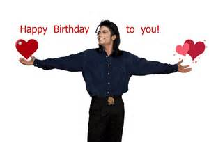 Michael jackson happy birthday sms messages song wishes pics