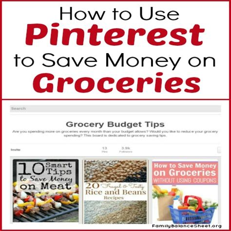 supermarket comparison how to save money on groceries how to use pinterest to save money on groceries