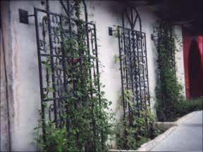 wrought iron wall trellis metal garden trellises smalltowndjs