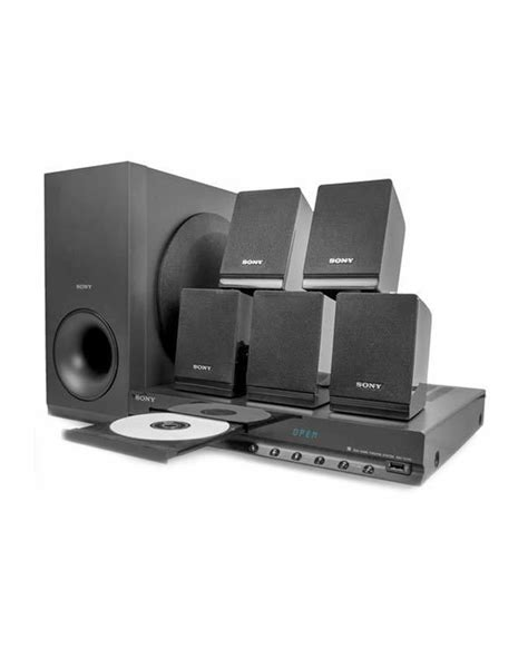 sony dav tz140 5 1ch dvd home theater system black