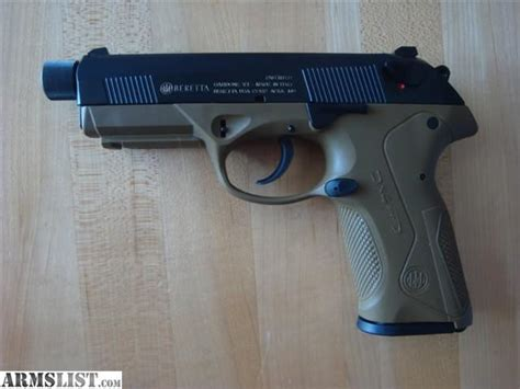 armslist for sale beretta px4 special duty 45 acp like new threaded barrel