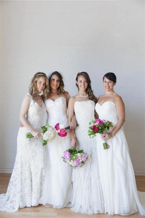 Site lets brides on a budget rent pre owned wedding gowns