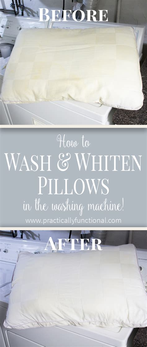 Can You Wash A Feather Pillow In The Washer by How To Wash Pillows In The Washing Machine