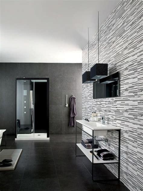 Dane And Dine Melix Black Sol Brown salle de bain noir et blanc de l 233 l 233 gance 233 ternelle
