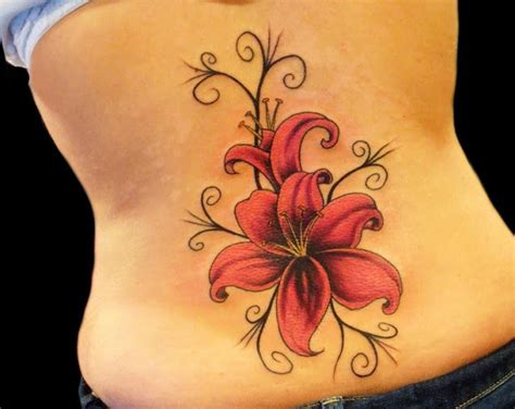 gladiolus flower tattoo designs 50 creative and beautiful flower tattoos you must see