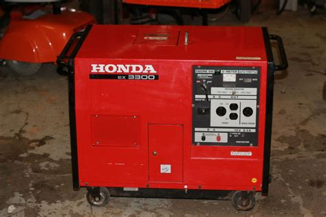 honda ex3300 gas powered generator on popscreen