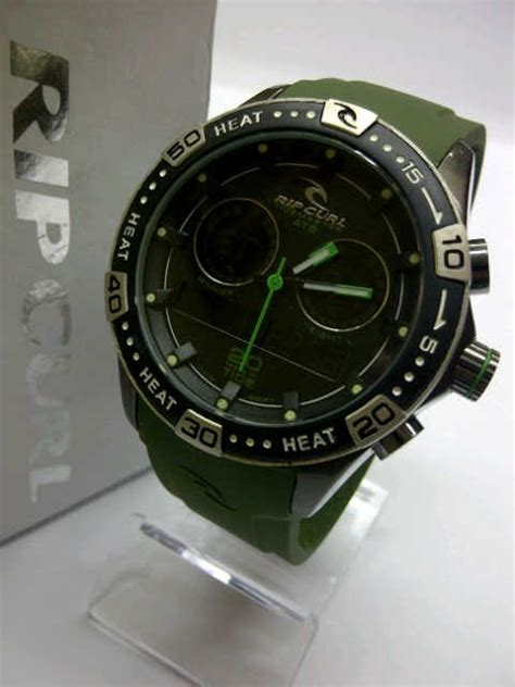 Jam Tangan Ripcurl 6070 Black Blue rip curl orbit black orange green blue jarkem watches