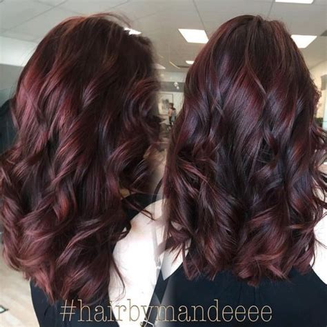 medium burgundy brown hair color images 10 stylish hair color ideas 2017 ombre and balayage hair